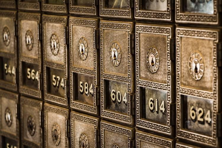 Bank Safe Deposit Box