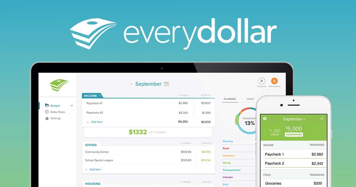 EveryDollar for Budgeting