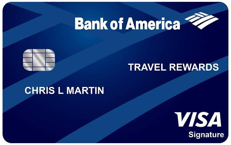 Travel Rewards Bank of America
