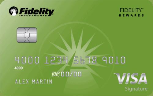 Fidelity Rewards Card