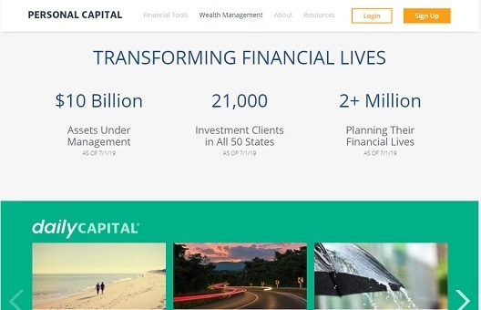 Personal Capital Features