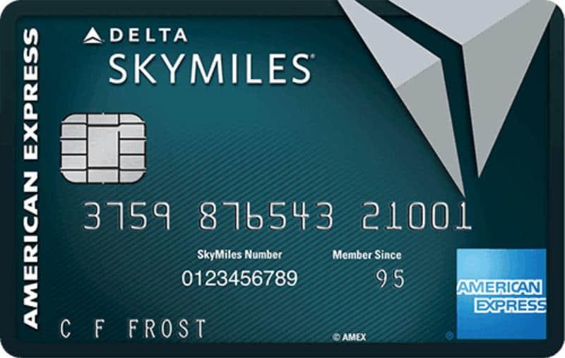 best delta credit card skymiles reserve