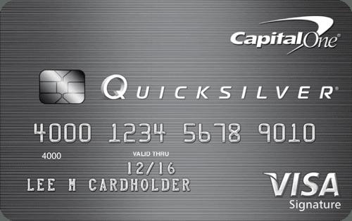 Capital One Quicksilver Rewards