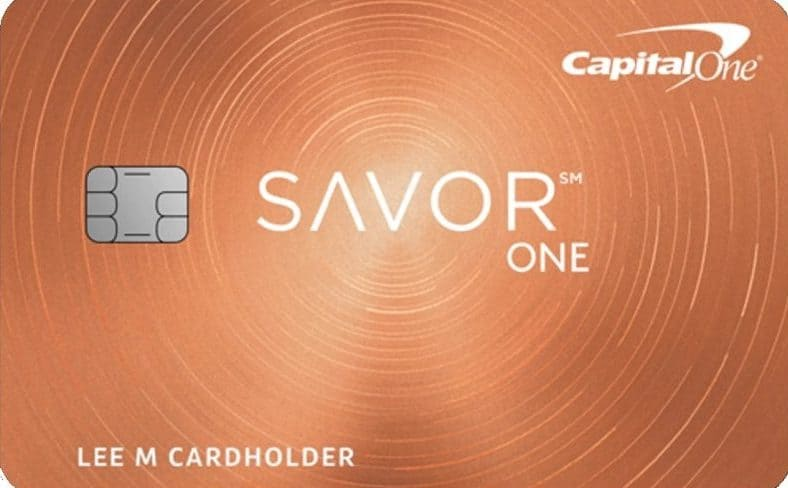 Capital One Savor One