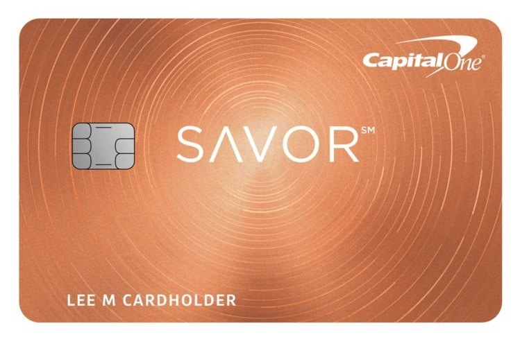 Capital One Savor Rewards