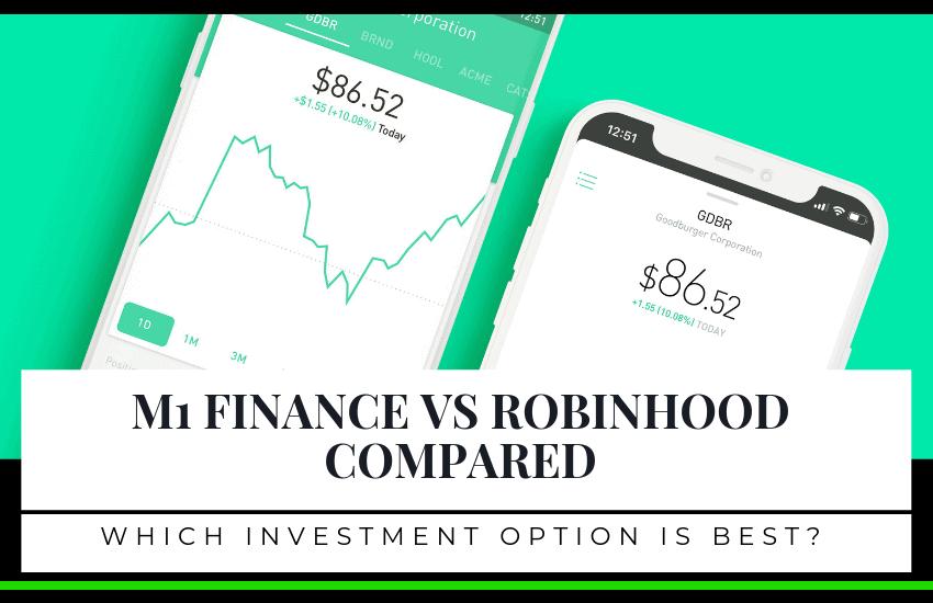 M1 Finance vs Robinhood: Partial Shares or Crypto?