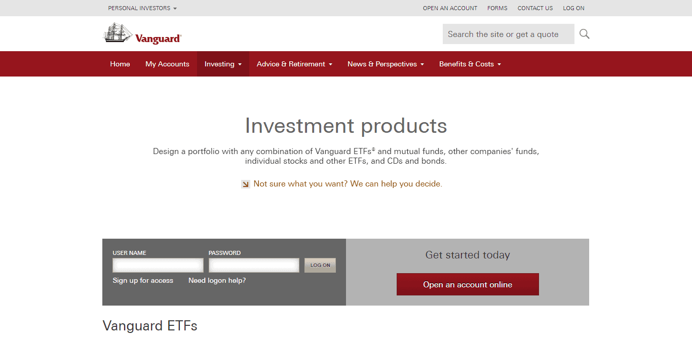 How to Invest with Vanguard