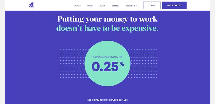 Wealthfront features