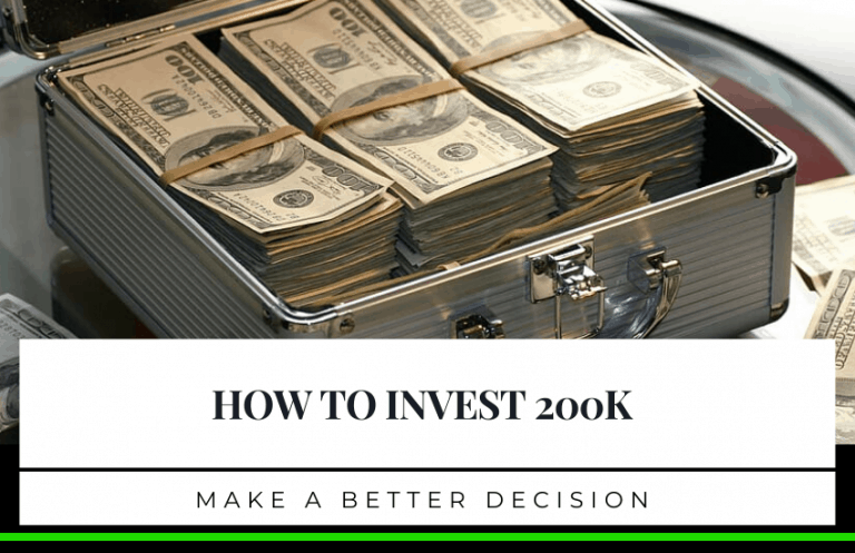 A Guide on How To Invest 200k: Make a Successful Decision